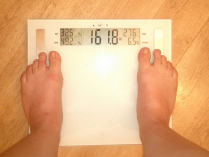 40 Scale June 3 161.8 lbs