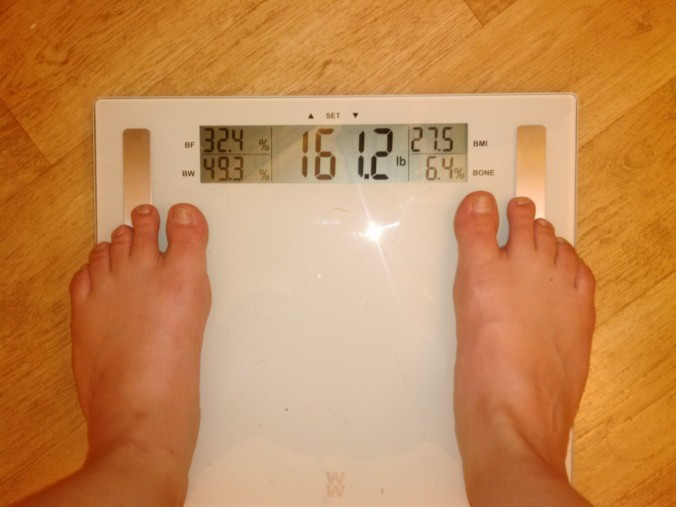42 Scale June 17 161.2 lbs